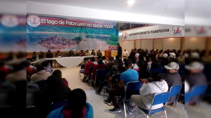 Sigue en pie de lucha el rescate del Lago de Pátzcuaro