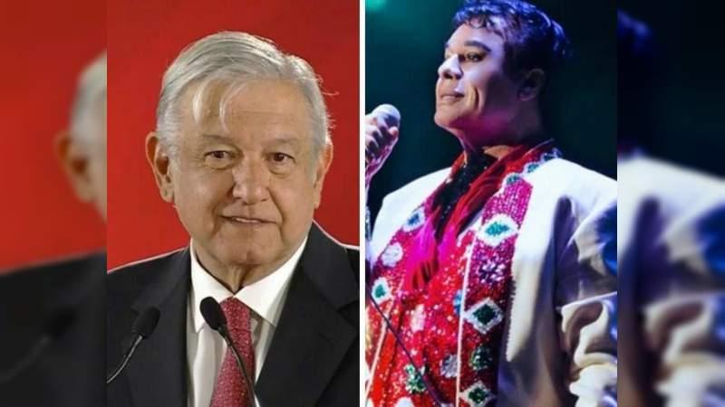 Juan Gabriel volverá cuándo lo llame AMLO: Joaquín Muñoz
