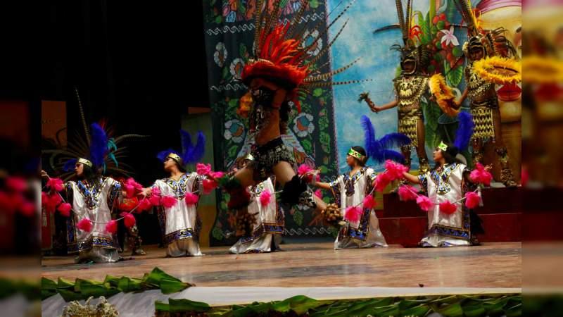 Obtiene Michoacán medallas de oro y plata con danzas tradicionales