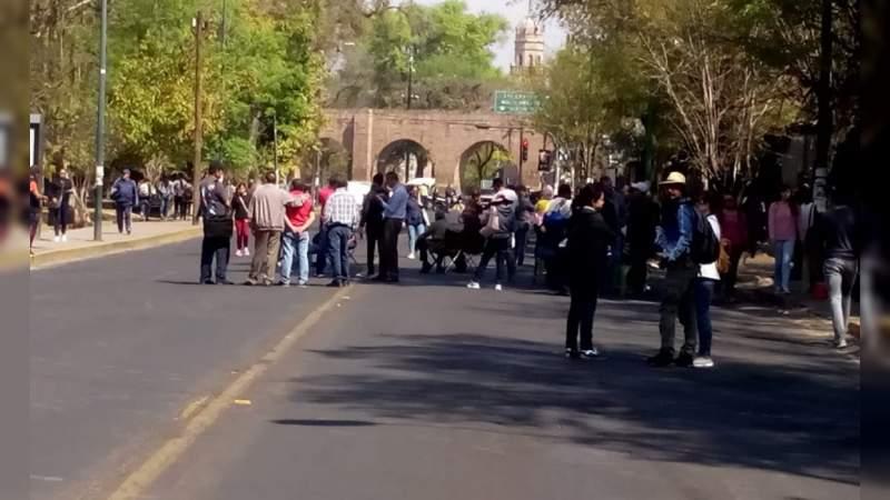 Este viernes, CNTE vuelve a bloquear la avenida Ventura Puente