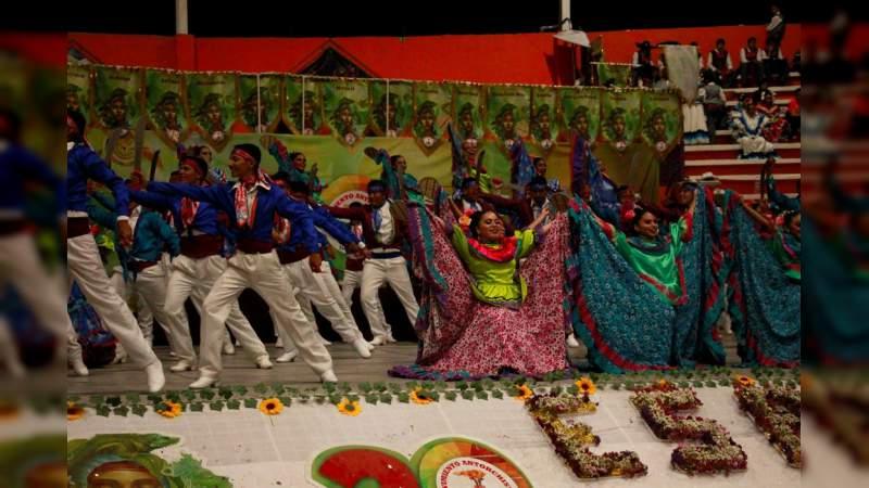 Michoacán logra primer y segundo lugar en la disciplina de baile de la Espartaqueada Cultural