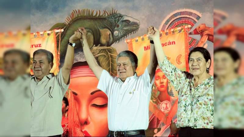 Logra Michoacán cuarto lugar en la XX Espartaqueada Cultural Nacional
