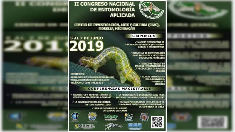 UMSNH será sede de Congreso Nacional de Entomología Aplicada