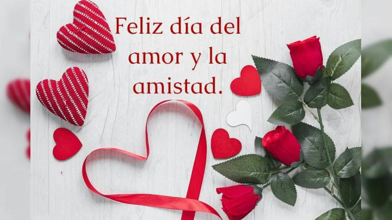 Hoy celebramos el Día del Amor y la Amistad