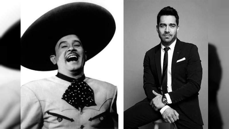 Omar Chaparro será Pedro Infante en la nueva producción de Netflix