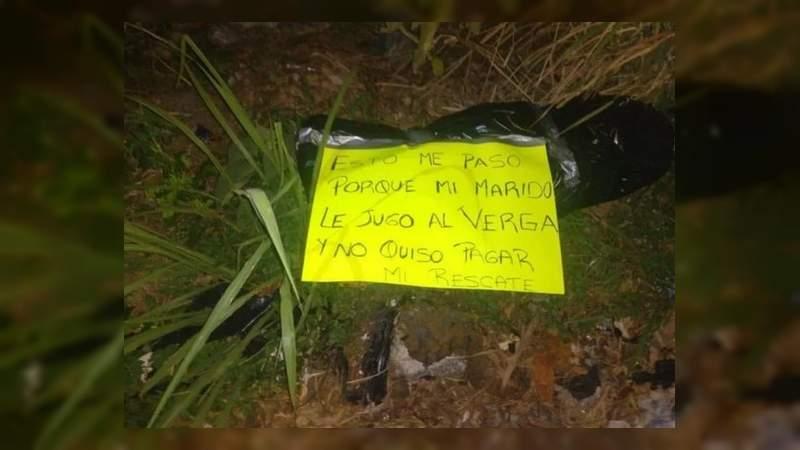 Hallan decapitada a empresaria secuestrada en Coatzacoalcos, Veracruz