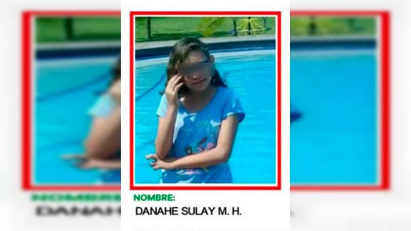 Niña de 11 años desaparecida hace un mes en Morelia es localizada en Lázaro Cárdenas