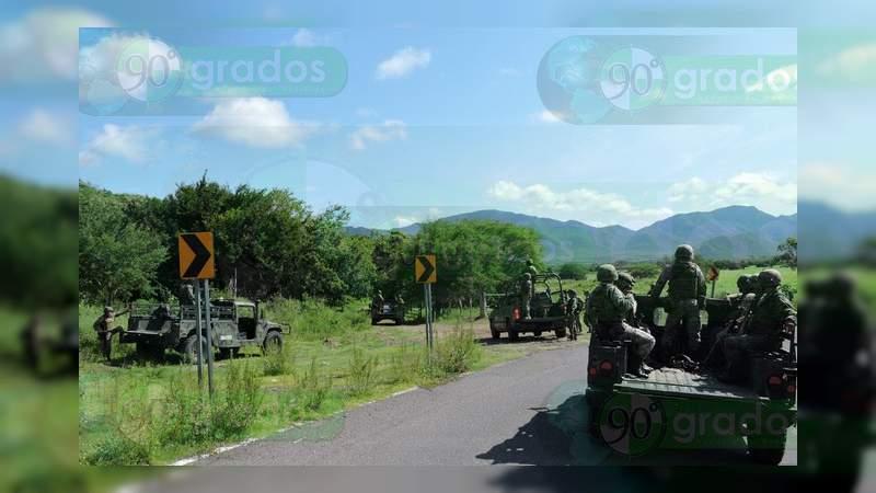 Nueva jornada de balaceras y bloqueos en Buenavista y Apatzingán