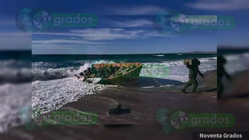 Asegura Marina nueve toneladas de droga, armas y combustible en costas de Guaymas, Sonora