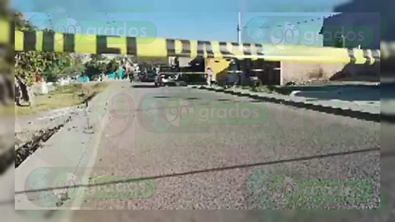 Asesinan a un hombre en Salamanca, Guanajuato
