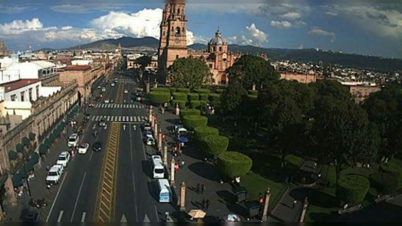 Inicia una semana calurosa en la capital michoacana