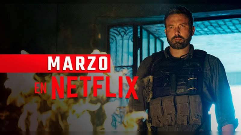 Todos los estrenos de Netflix en marzo