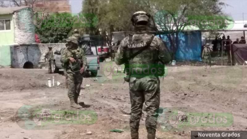 Aseguran una segunda mansión de El Marro en Villagrán, Guanajuato