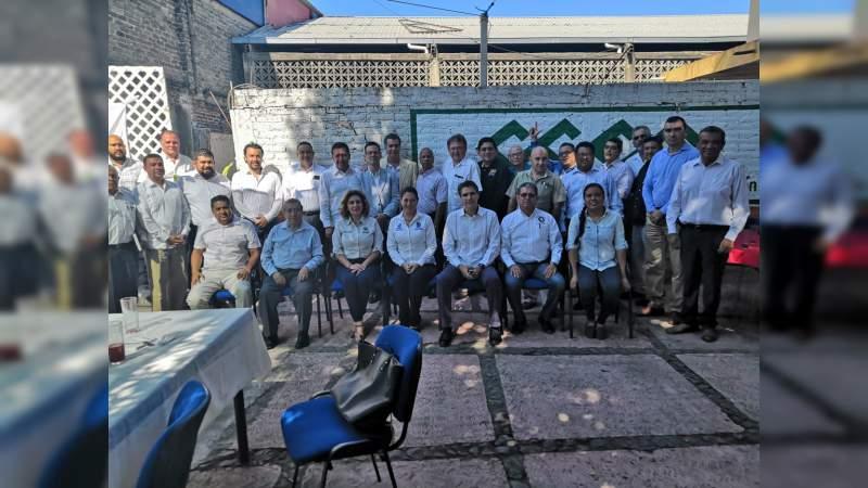 Reactivan Consejo Coordinador Empresarial de Apatzingán, Michoacán