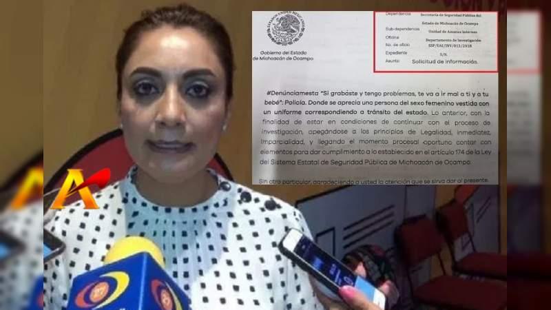 Vocera Del Gobierno De Michoacán 'Desconoce' Presiones De SSP VS Changoonga