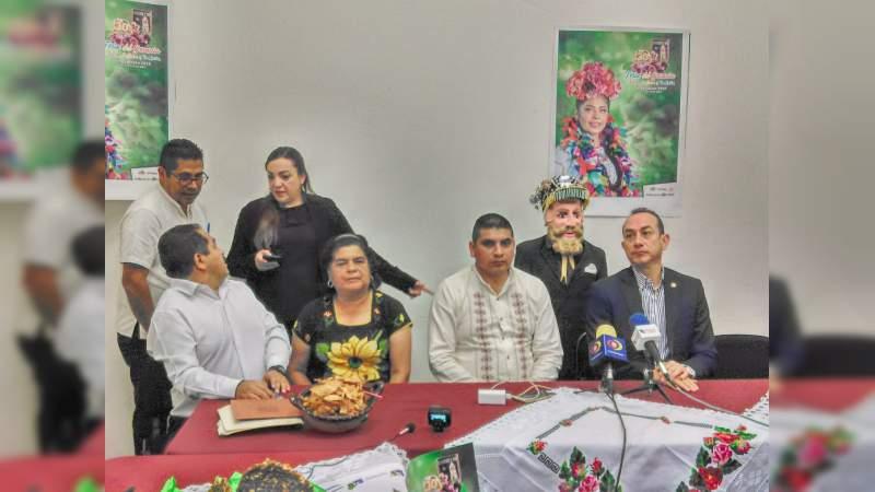 Feria del Geranio de Tingambato celebra su 30 aniversario, se realizará del 12 al 15 de abril