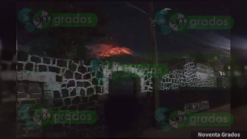 Piden a ciudadanos evitar acercarse al cráter del Popocatépetl