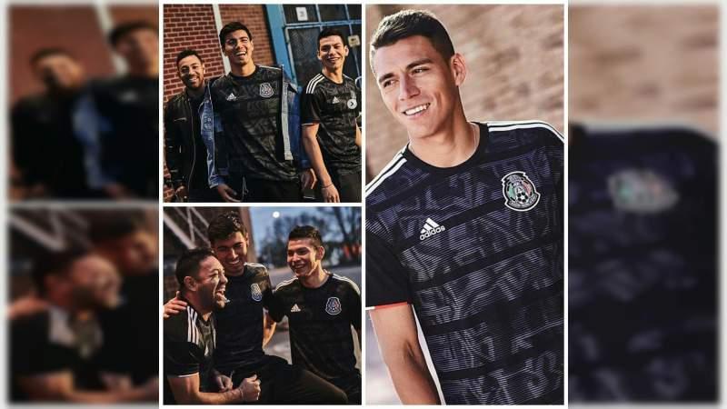 a59e3c87ee07b Presentan nuevo jersey de la Selección Mexicana de Fútbol - Noventa ...