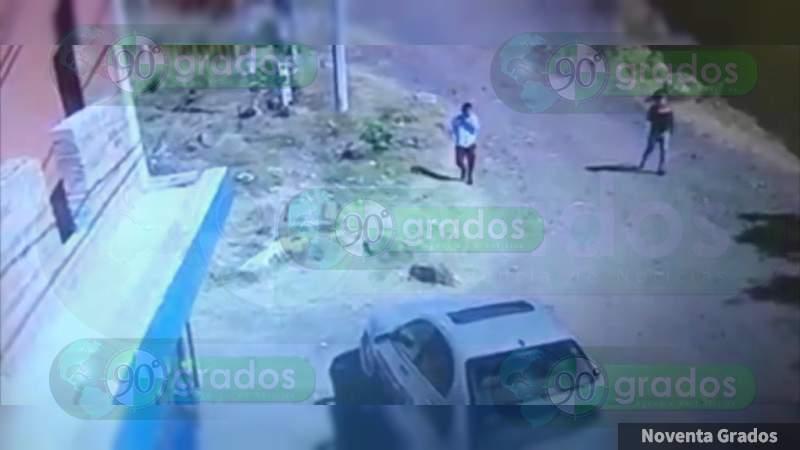 Asaltan a cuentahabiente en Morelia; lo despojan de 100 mil pesos