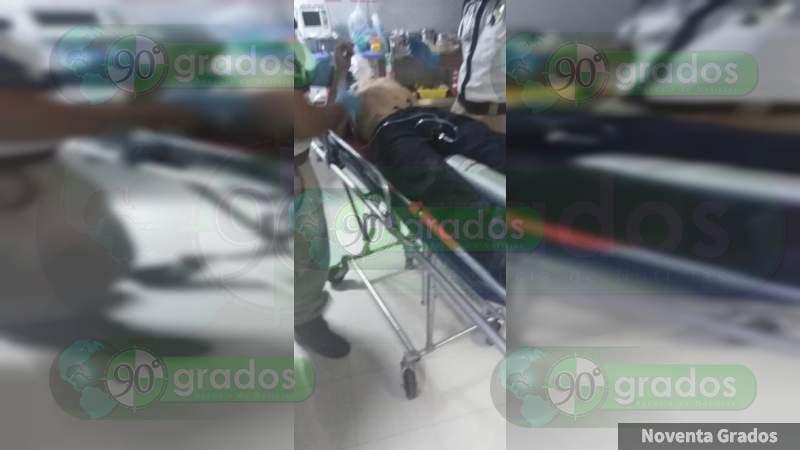 Apuñalan a individuo en Zamora, Michoacán