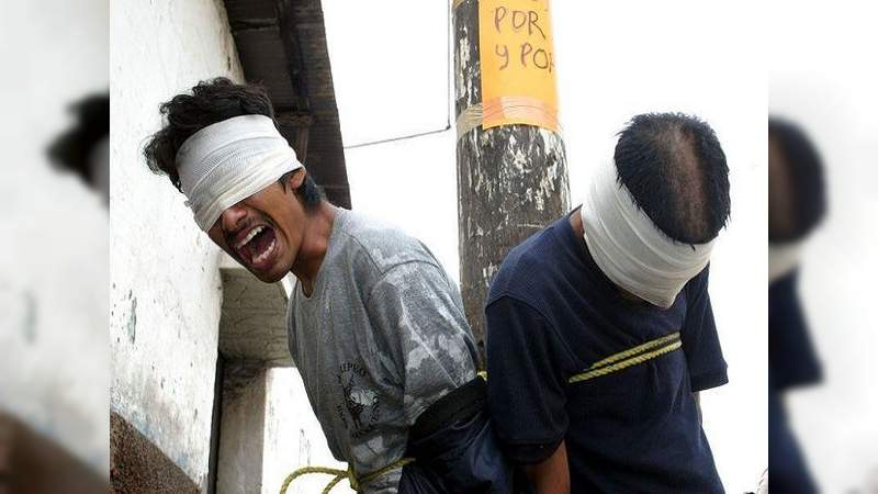 Ladrones no dan tregua a los michoacanos, hartazgo ha llegado a que tomen justicia por sus propias manos