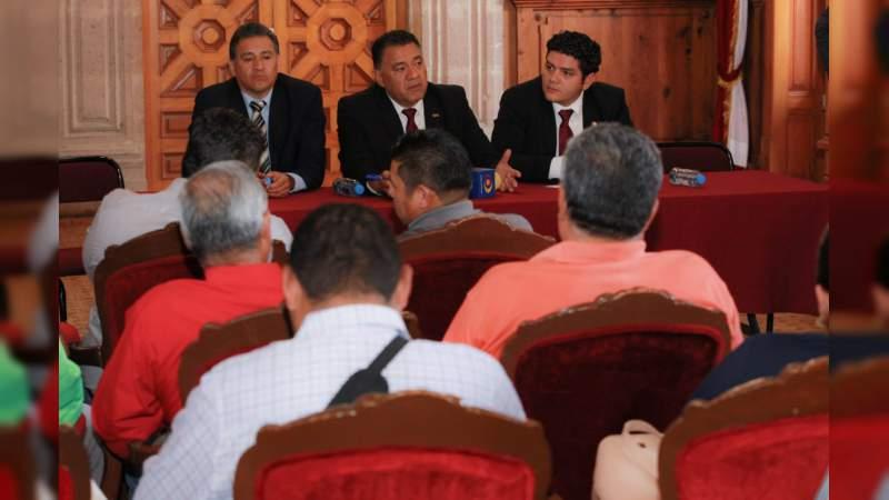 Atiende GP de Morena inquietudes del magisterio en Michoacán