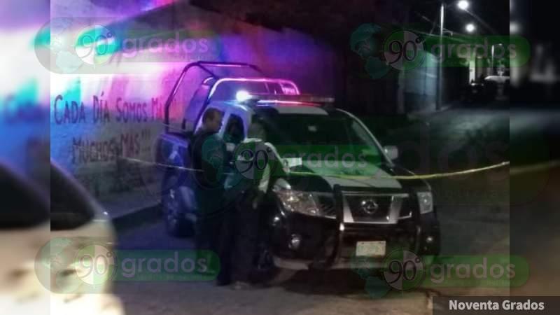 Lo matan a tiros en zona centro de Apaseo El Alto, Guanajuato
