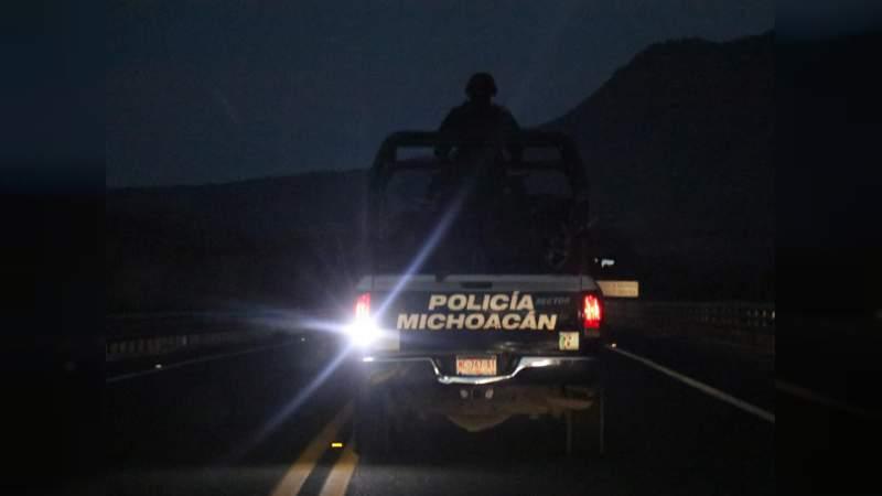 Son un muerto y tres los policías heridos por emboscada en Tocumbo; refuerzan seguridad