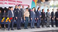 Rechifla al Gobernador de Michoacán por llegar tarde a graduación de policías estatales