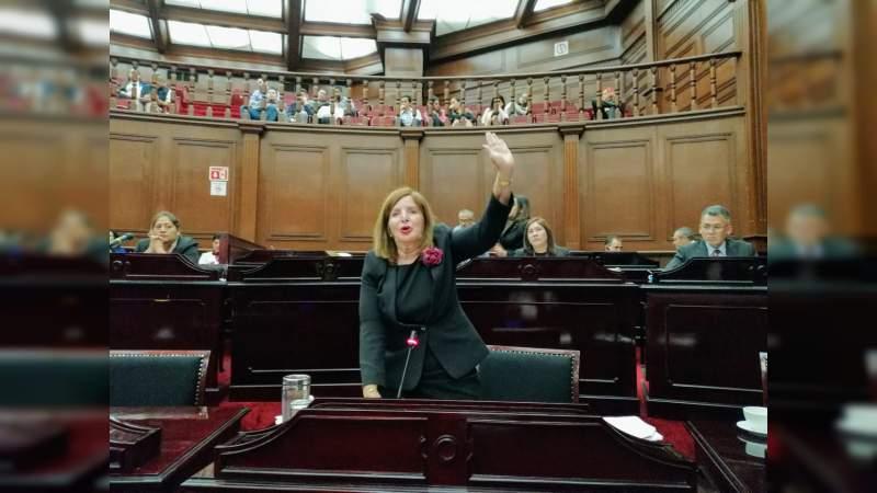Modificación histórica a nombre de Apatzingán, plantea diputada Sandra Luz Valencia