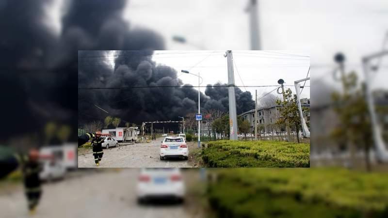 Casi 50 muertos y 650 heridos tras explosión de fábrica en China
