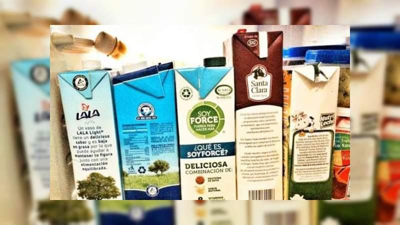Profeco alerta sobre marcas de leche falsa en el país