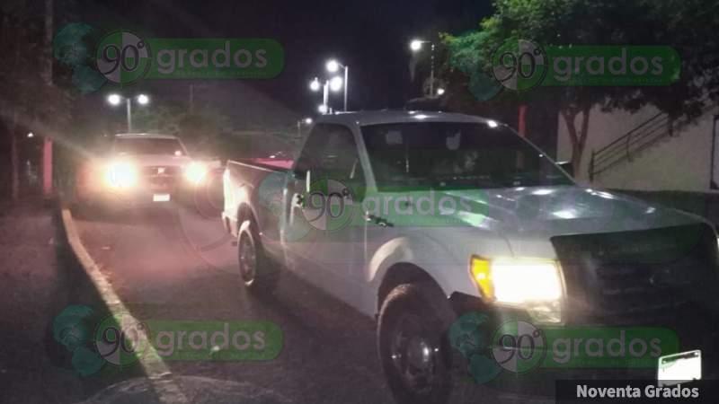 Sujetos armados agreden a dos personas en Apatzingán, Michoacán