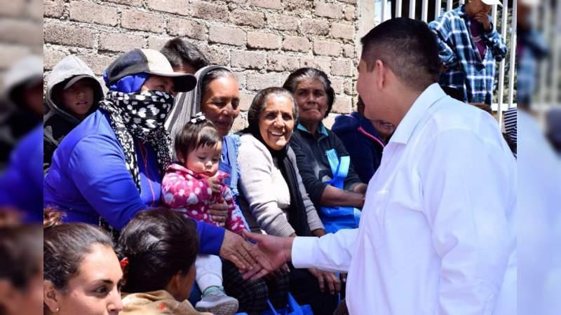 Soy un diputado de calle, no solamente de tribuna: Arturo Hernández