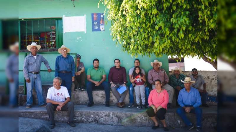 Busca GPPAN impulsar desarrollo de El Algodonal, en La Piedad: Hugo Anaya