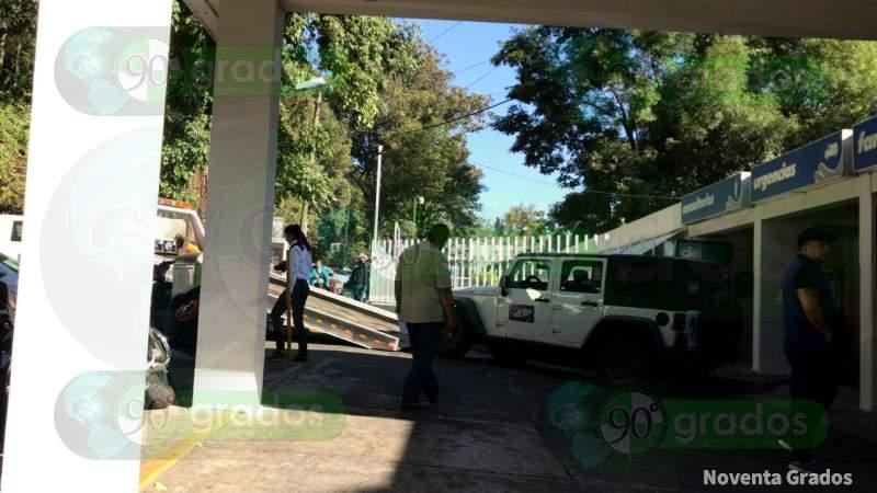 Rafaguean Jeep, hay un muerto y un herido en Uruapan, Michoacán