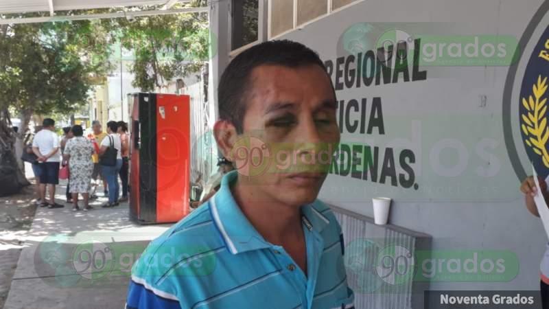 Golpean a padre e hija en la Casa del Terror de la Expo Feria de Lázaro Cárdenas, Michoacán