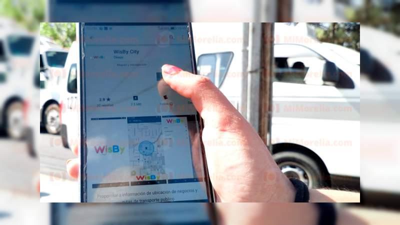 Morelianos podrán monitorear rutas de combis a través de esta app