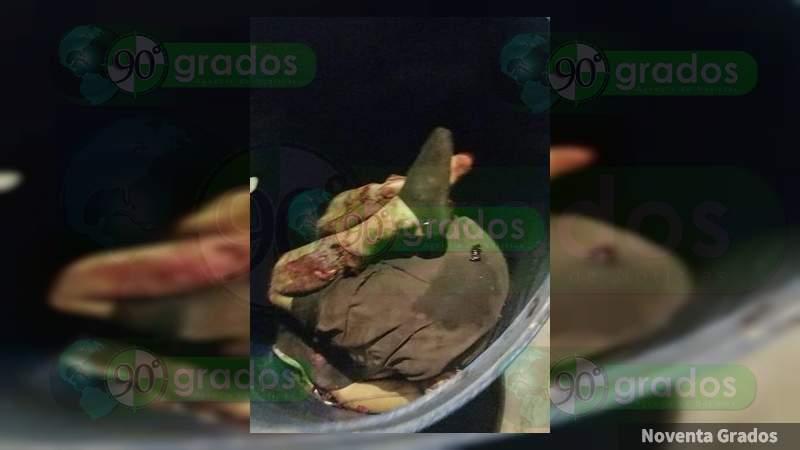 Decapitado y entambado con narcomensaje hallan cuerpo en Tijuana, Baja California