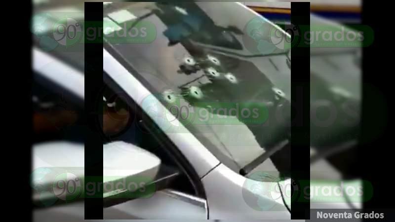 Lo interceptan y ejecutan en su camioneta en Naucalpan, Estado de México