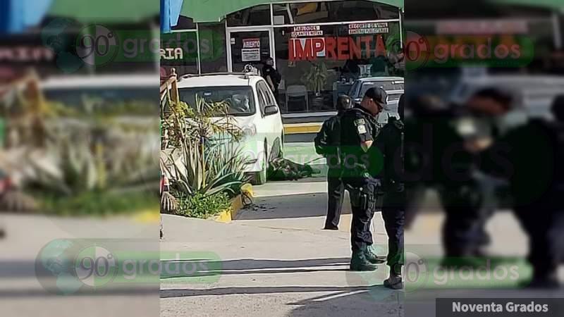 Lo asesinan en plaza comercial en Tijuana, Baja California