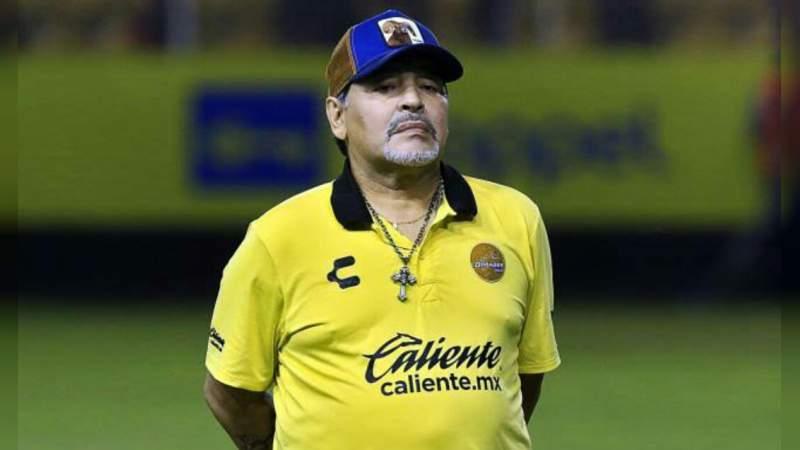 Maradona dedica sus triunfos en México a Nicolás Maduro