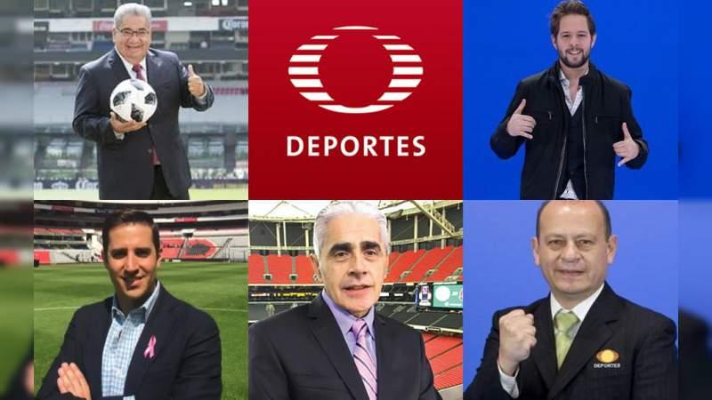 Televisa Deportes anuncia despido masivo de comentaristas