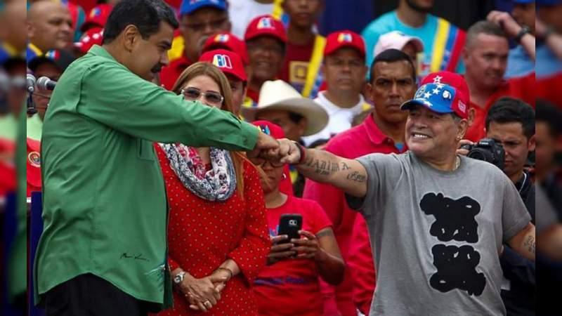 Liga MX Investiga a Maradona por dedicar triunfo a Nicolás Maduro