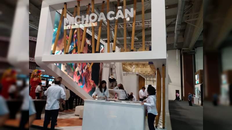 Michoacán, destino ideal, presente en el Tianguis Turístico de México