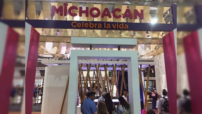 Cautiva Michoacán en el Tianguis Turístico de México 2019