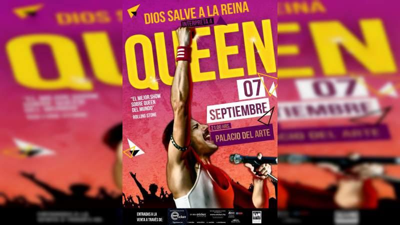 """""""Dios Salve a la Reina"""", el mejor tributo a Queen llegará a Morelia"""