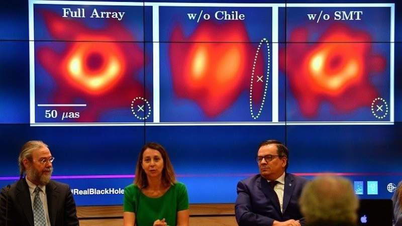 Mexicano participa en la primera foto de un agujero negro