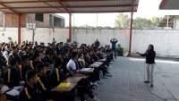 Adolescentes de Tarímbaro, reciben taller sobre manejo de las emociones