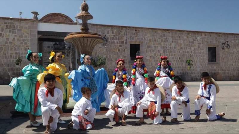 Morelia sede del sexto Festival Infantil de Folclor Nacional